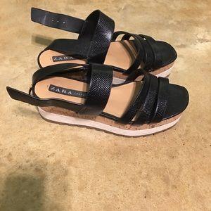 Zara sandals size 9